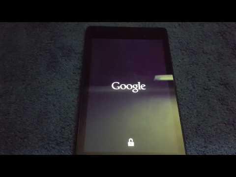 Nexus 7 2013 Stuck On Google Screen Fix