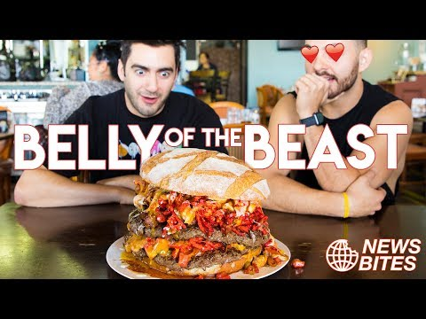 BELLY OF THE BEAST BURGER || News Bites