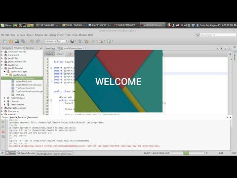 JavaFX Splash Screen 2 : Loading In a Seperate Window