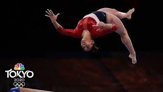 Suni Lee nails uneven bars, dazzles during gymnastics team final | Tokyo Olympics | NBC Sports
