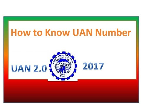 how to know your uan number