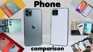 Ultimate phone comparison 2019 - latest new top - apple samsung huawei google - music - SCREENSHOTZ