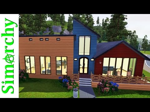 The Sims 3 House Tour - Sunset Valley Base Game Homes - Part 7