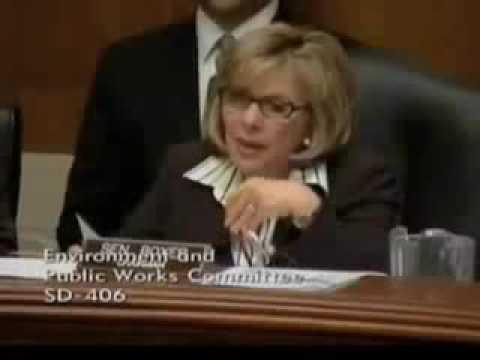 Senator Barbara Boxer: