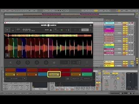 How to make a beat in Serato Sample