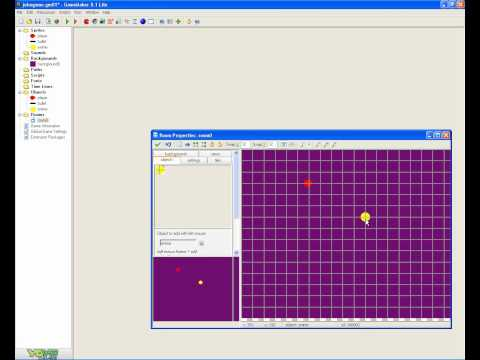 how to make a mouse shooting game on game maker 8.1 part 2