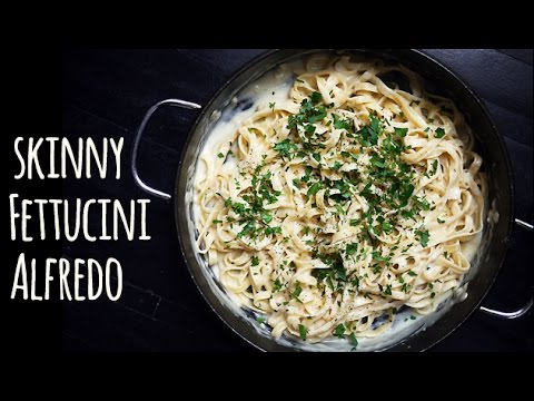 Skinny Fettuccine Alfredo recipe: Easy dinner, healthy pasta | One Hungry Mama