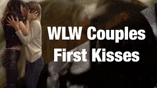WLW Couples First Kisses
