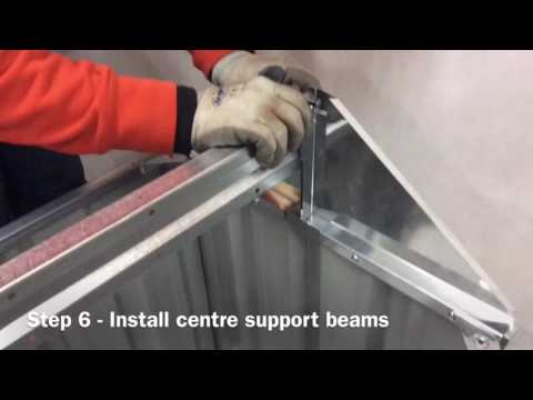 Brief installation of VEBO Outdoor Metal Dog Kennel (PWH202)