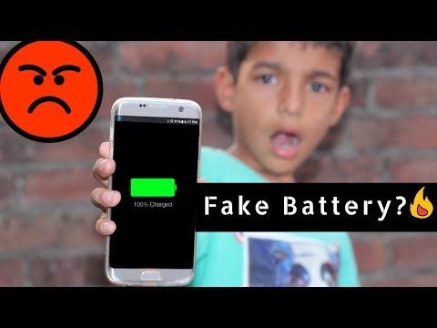 100% Fake Battery?