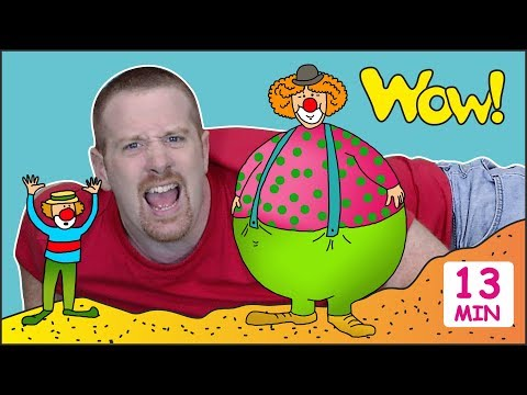 Funny Circus + Magic Stories for Kids from Steve and Maggie | Learn Speaking Wow English TV