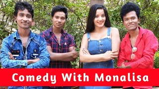 Comedy With Monalisa   Prince Kumar Comedy Video   Vigo Video   Part 140