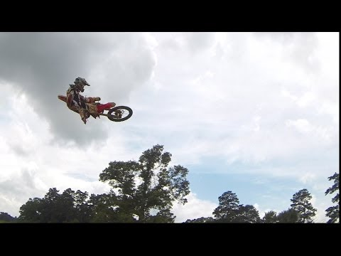 Kevin Windham Throwing Whips at Wildwood MX in Kentwood, LA