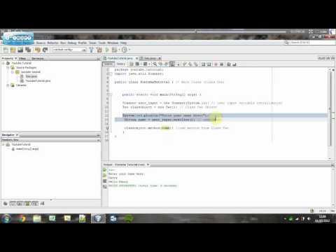 Understanding Java   Creating Multiple Classes (With Parameters)   Tutorial #12
