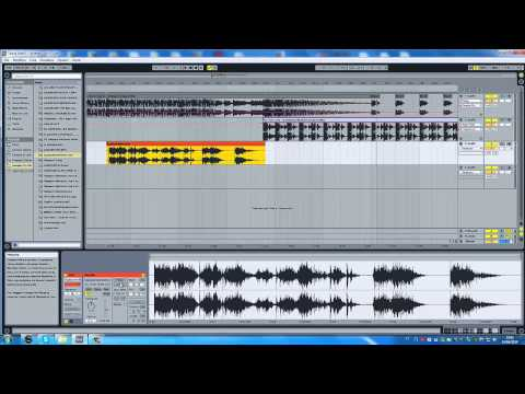 How to mix 2 songs in Ableton live!