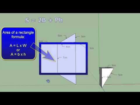 HOW TO FIND THE SURFACE AREA OF A TRIANGULAR PRISM: MADE EASY!