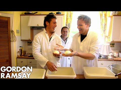 Gordon Ramsay Makes Scotland's First Ever Buffalo Mozzarella