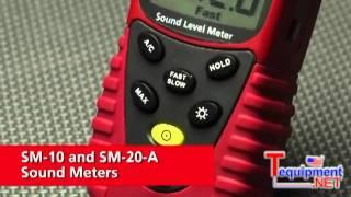 Amprobe Sm-10 & Sm-20-a Sound Meters
