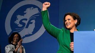 Mary Lou McDonald takes over as Sinn Fein leader