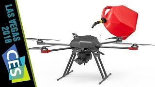 QL1200 Gas-Electric Hybrid Drone from Walkera at CES 2018