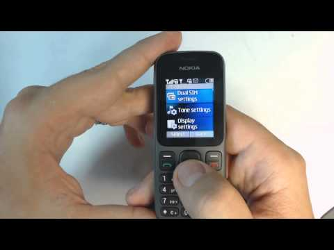 Nokia 101 factory reset
