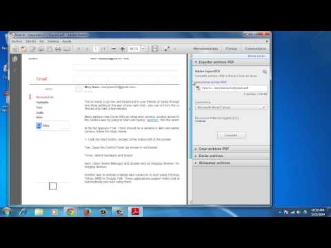 How to Convert Email to PDF with Google Chrome