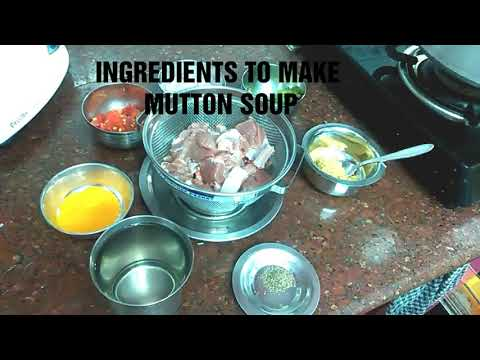 MUTTON SOUP||MUTTON SHORBA||BABY FOOD||LUNCH RECIPE