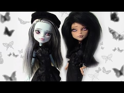 How to make Gothic Dolls