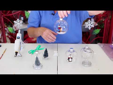 Crankin' Out Crafts - ep540 Ornament With Open Face & Jar Ornament