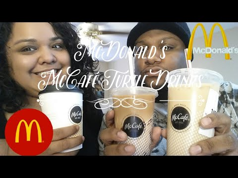 McDonald's McCafé Iced Turtle Macchiato, Turtle Macchiato & Iced Turtle Coffee Review