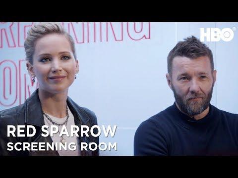 Jennifer Lawrence & Joel Edgerton On Red Sparrow (2018 Movie) | HBO