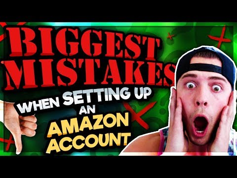 BIGGEST MISTAKES When Setting Up Your Amazon Account! **Can Cost You Big Time**