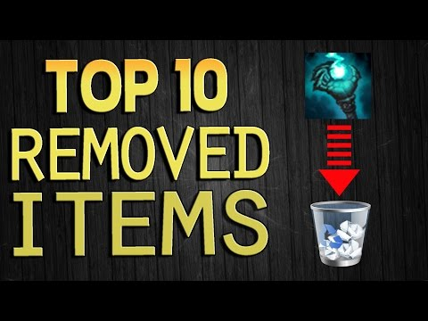 Top 10 Removed Items - League of Legends