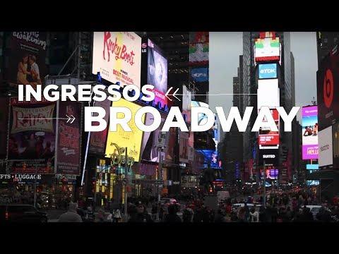 COMPRAR INGRESSOS PARA SHOWS DA BROADWAY EM NOVA YORK | NY