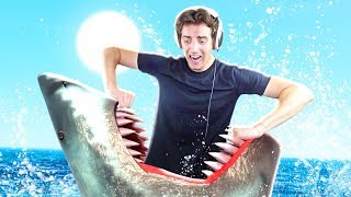 Denis Sucks At Raft - Episode 1