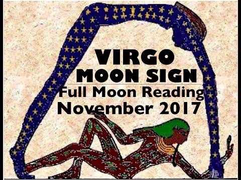 VIRGO MOON SIGN November Full Moon Reading 2017