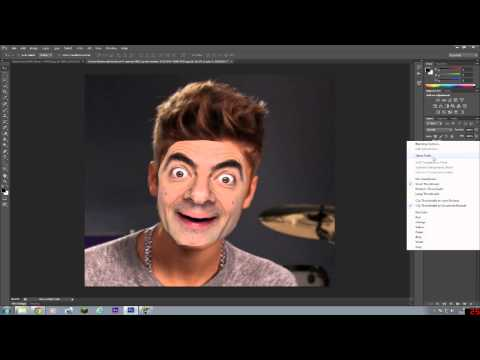 How to swap faces on Photoshop CS6 EASY!