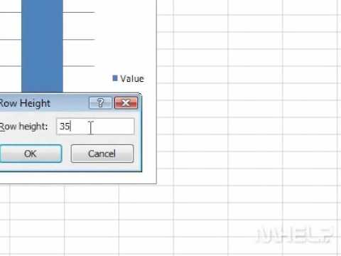 How to change the height of a single row in Excel