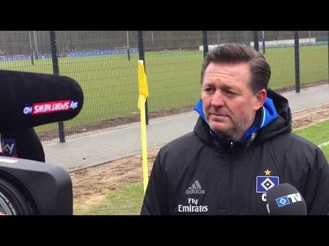 So bewertet HSV-Trainer Titz den 3:0-Sieg gegen Odense