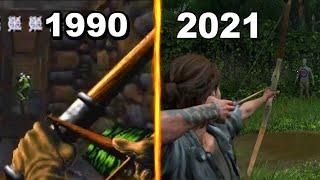 Archery Evolution in Games 1990-2021