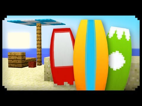 ✔ Minecraft: How to make Surfboards