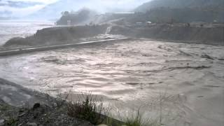 Alaknanda hydro project.... during flood on 16th