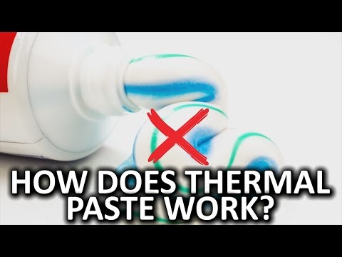 How Does Thermal Paste Work?