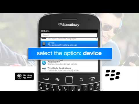 How to activate the Blackberry APN settings