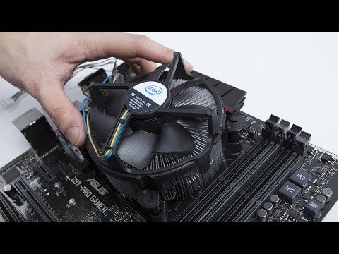 Installing a CPU Fan - How to Install a CPU Cooler
