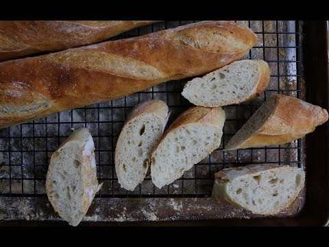 Easy to Make French Baguettes At Home - Homemade French Baguettes