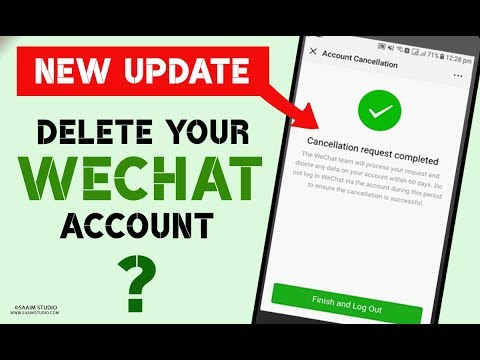 How to delete WeChat Account? delete WeChat Account Permanently(Updated)
