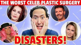 These Five Celebrity Plastic Surgery Horror Stories Will Blow Your Mind! - Dr. Anthony Youn