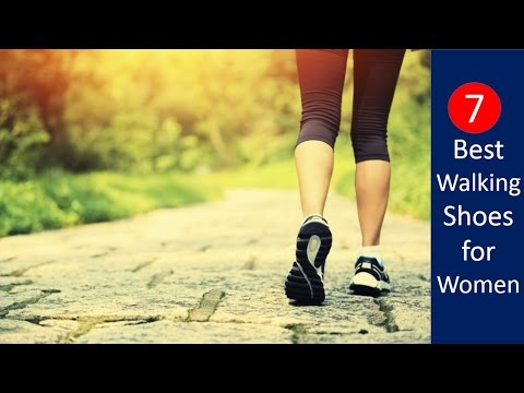 7 Best Walking Shoes for Women 2017 | Lightweight And Most Comfortable