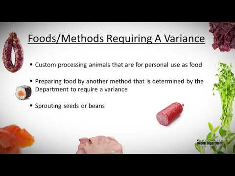 Variance and HACCP